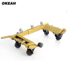 High End European Car Dolly Vehicle Mover Hydraulic Positioning For Car(China)
