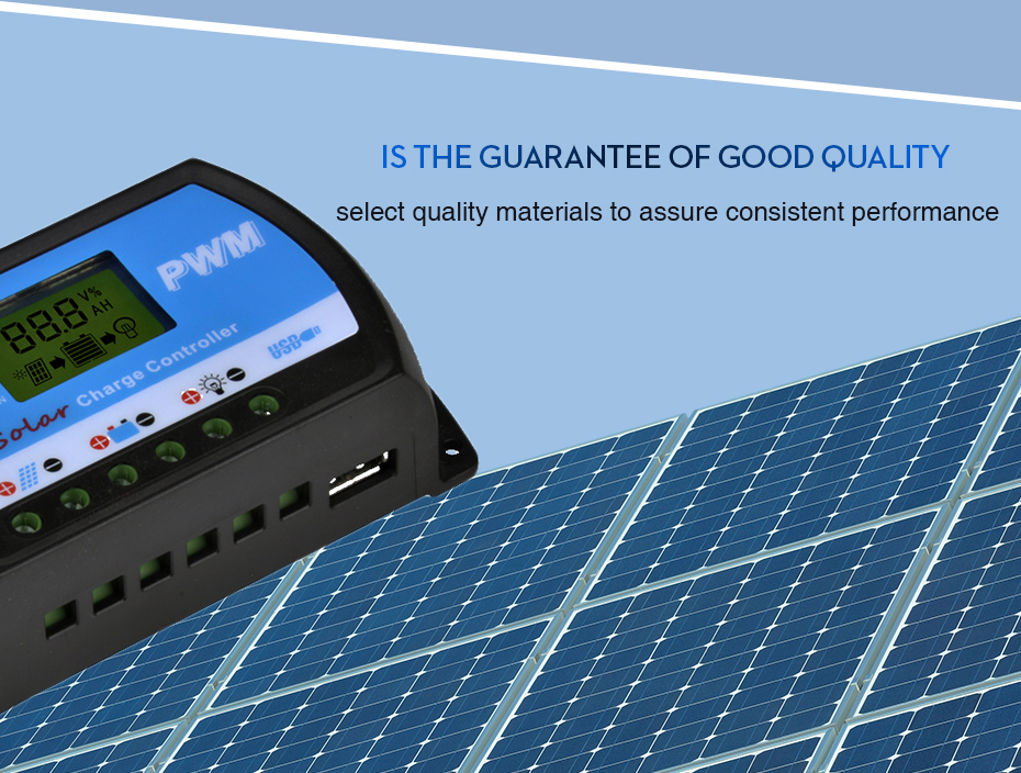 EASUN POWER Solar Charge Controller 30A 20A 10A Voltage Regulator ICharger PWM 24302010-R DES-7