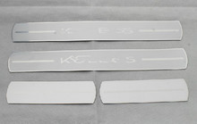High quality PVC internal Scuff Plate/Door Sill for 2009-2013 Renault Koleos Car styling(China)