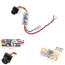 1set KK Q25 5.8G 25mW 16CH micro AV Transmitter With 600TVL FPV Camera for RC Indoor Quadcopter FPV Camera Drone