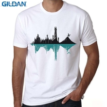 GILDAN t-shirt mens short sleeve Print Duality T shirt It Grows on Trees T-Shirt Nature Guitar Hip Hop Hipster Tee Tops(China)