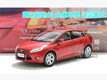 FORD FOCUS 2012 new Hatchback 1:18 car model alloy original metal diecast kids toy boy collection Simulation Miniature