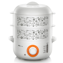 Bear Electric Egg Cooker Automatic Power-off Cooker Stainless Steel Steamer Double Eggboilers ZDQ-A08A1