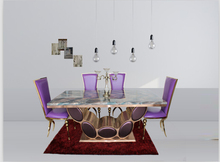 Marble dining room sets