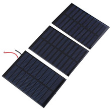 NEW 0.8W 5V 160mA Solar Panel Bank Battery power charger Module Home DIY Cell car boat home Solar Panel Portable Power