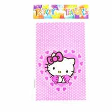 f93f62fff735 10Pcs Lot Cartoon Bags Gift Bags Cartoon hello kitty Theme Boy Girl Happy Birthday  Party