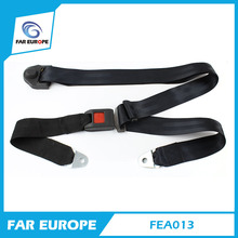 Hot sale super cheap normal quality customizable simple 3 points car safety belt parts FEA013(China)