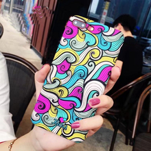 Buy iPhone 8 8plus Colorful Color phone Case iPhone 7 7plus hard PC Cover Case Apple iPhone6 6s plus Back Cover Cases Co.,Ltd) for $7.19 in AliExpress store