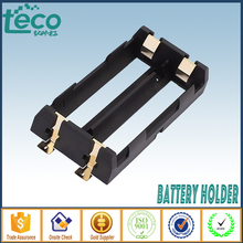 10Pcs/lot 2 X 18650 Battery Holder SMD High Quality Battery Box With Bronze Pins TBH-18650-2C-SMT(China)