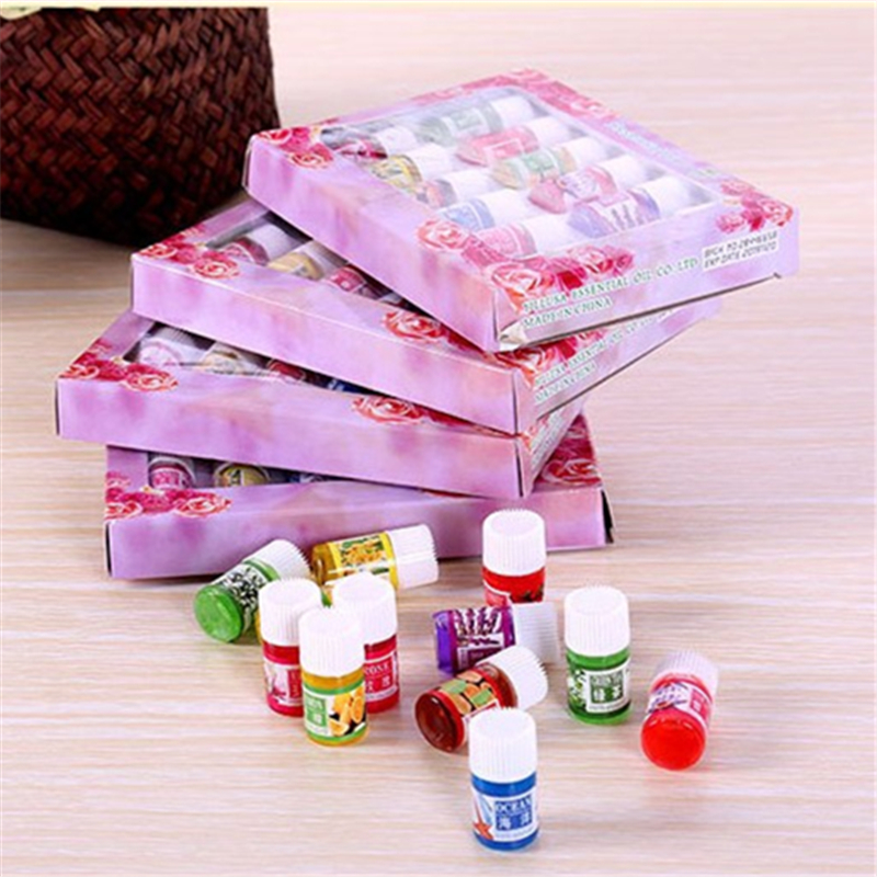 Dimollaure 12 Kinds of Fragrance Essential Oil Pack for DIY Aromatherapy Humidifier Fragrance lamp Purifying air Jasmine Oil 16