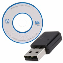 2.4GHz 150Mbps Mini Portable USB 2.0 Wireless LAN Adapter + Driver CD