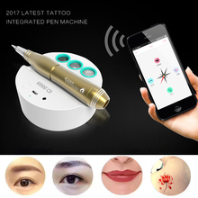 NEW Tattoo Machines Intelligent Permanent Makeup Pen Machine Eyebrow Makeup Kits Lips Latest Tattoo Integrated Pen Machine