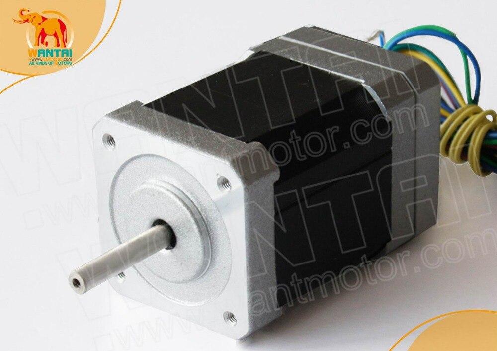 High Quality! 3phase CNC Wantai Nema17 Brushless DC Motor 42BLF03 24v 78w 4000Micro  Router Milling Laser Plasma<br>