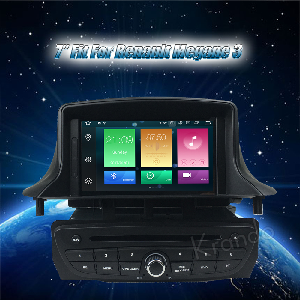 krando android car radio gps for renault megane 3 navigation multimedia system (2)