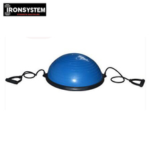 58cm Bosu Ball with Pump Fitness Equipment Balance Trainer Half Yoga Ball Exercsiser Slimming Balance Pilates Ball