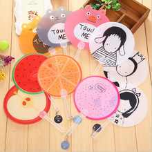 30pc/lot Summer essential /PP children cute Fruit cartoon plastic hand fan / Party Favors/nice gift/wholesale