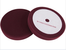 "K520(material w-7000 as MEGUIAR'S car cutting pad no logo)8"" high quanlity car wash soft Buff  Pad  & car foam Polish Pad"