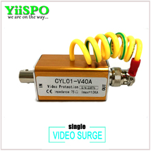 Surge Arrester BNC male Signal video Surge Protector Thunder lightning Arrester Protection device supply prevents thunder CCTV(China)