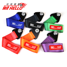 mr hello Racing SPCO Style Universal Tow Strap / Tow Hook Ribbon FOR Front/Rear Bumper(China)