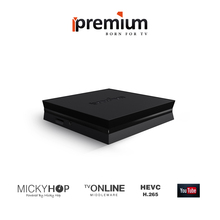 2pcs/lot Global Version Ipremium I7 Smart TV Box With Mickyhop OS and Stalker Middleware Media Player IPTV Set Top Box