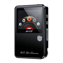 Amoi C50 Lossless HIFI Music Sport Portable MP3 Player Hard DSD256 Hi-Res Audio DAC4398+97220A Support OTG Line Out Max 30 hours(China)