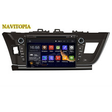 NaviTopia Octa Core/Quad Core 2G/1G Android 6.0/5.1 Car Multimedia DVD Player for Toyota Corolla 2013 2014 2015 2016- GPS PC(China)