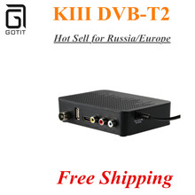 Russia/Europe Hot Sell K3 DVB-T2 Set Top Box DVB T2 Terrestrial Receiver Full HD 1080P Digital H.264 MPEG4 Support 3D TV Box