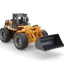 1:8 scale remote control construction trucks rc forklift rc truck electric rc bulldozer 6WD(China)