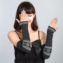 2017 fashion new women Arm Warmers caneleir mitts Cotton summer sun necessary summer style Sunscreen Gauntlets