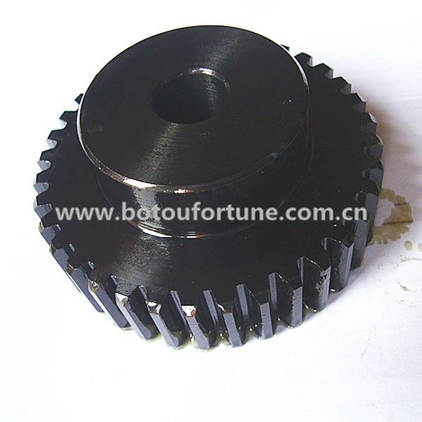 one set C45 steel 1.5M spur gear 21teeth and rack 15x15x1000 and HTD5M timing pulley 20 teeth 25mm belt width for CNC machine<br>