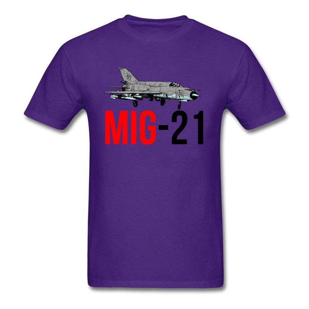MIG 21 Jet Air Plane_purple
