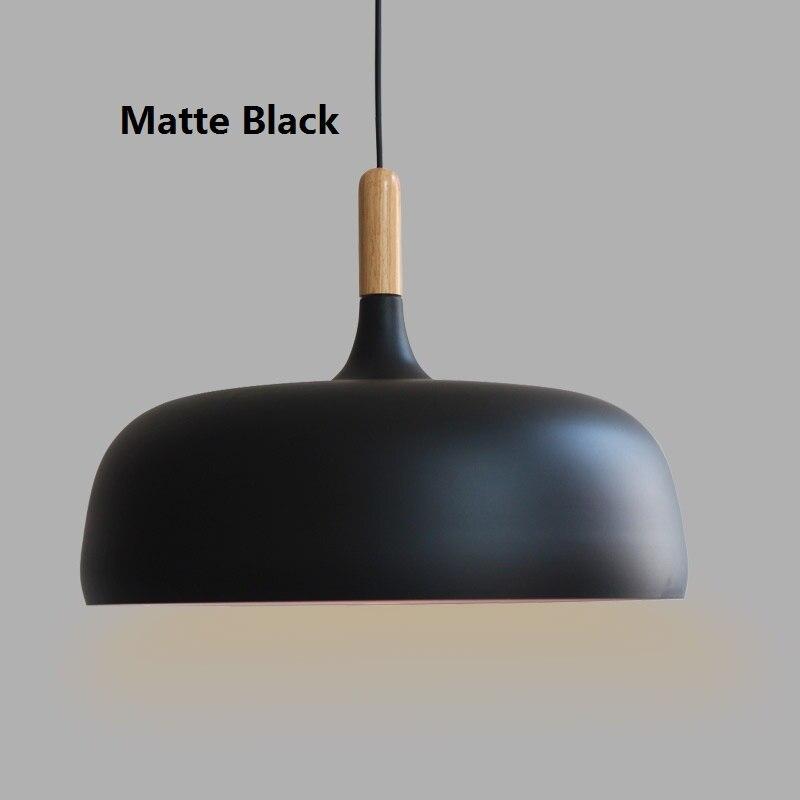Morden Acorn Pendant Lighting For Bedroom Aluminum Wood Lampshade Pendant Lamp Restaurant Hanglampen E27 220V Suspension Vintage<br><br>Aliexpress