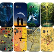 Hot Selling Cell Phone Cases For Samsung GALAXY Young 2 G130 G130H Cases Oil Surrealism Painting Hard Plastic Cover Phone Case(China)