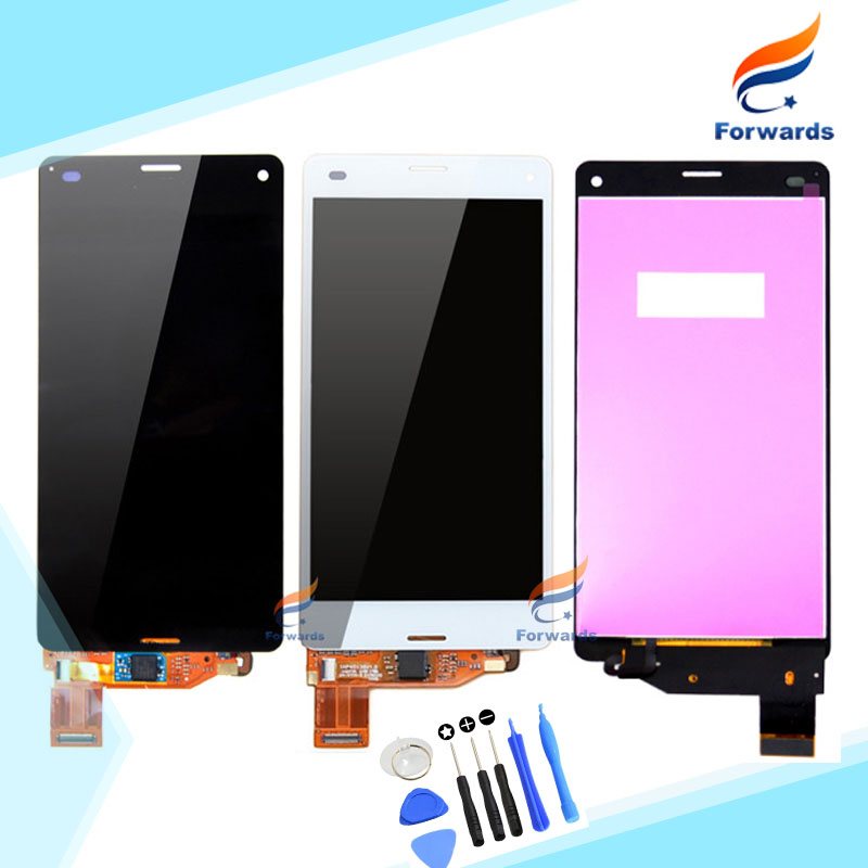 For Sony Xperia Z3 Mini LCD for Sony Z3 Compact D5803 D5833 LCD Display with Touch Screen Digitizer Assembly 1 pcs free shipping<br>