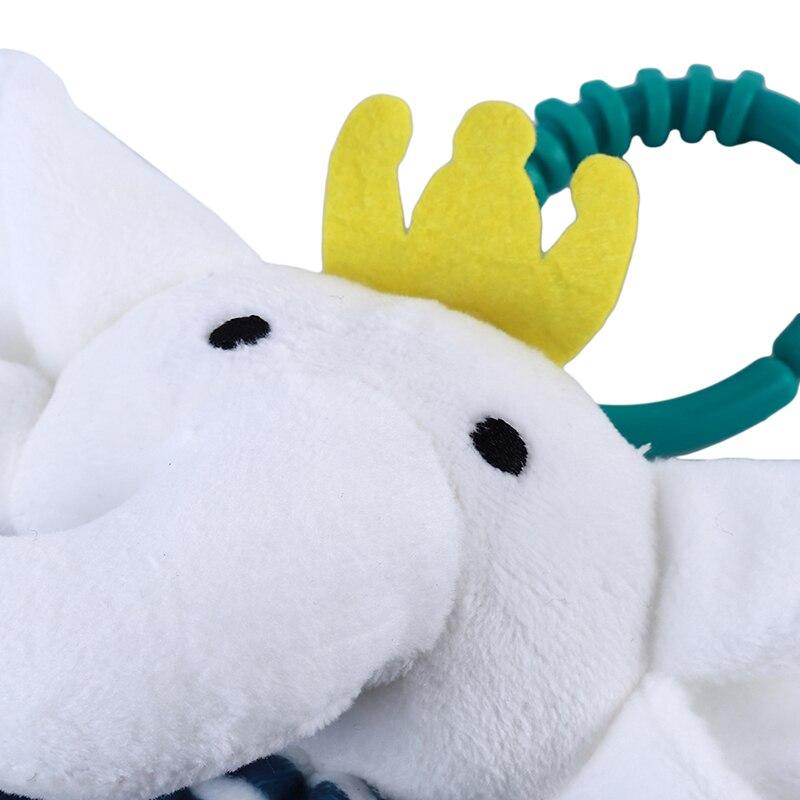 Soft Baby Toys Appease Towel Sleeping Animals Blankets Rattles Stroller CS