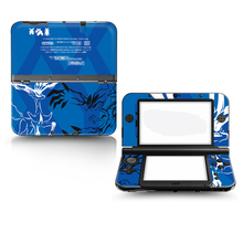 For Nintendo New 3DS XL Console Skins Stickers Pokemon Design Vinyl Cover Decal Skin Sticker for 3DS