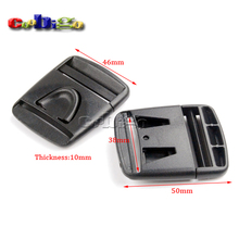 "50pcs  Pack 1-1/2"" Center Release Buckle for Outdoor Sports Bags Students Bags Luggage #FLC381-38"