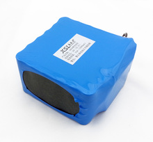 6S6P 24V12AH 18650 lithium battery / moped / motorcycle / electric car battery with a doctor / outdoor lighting + free shipping