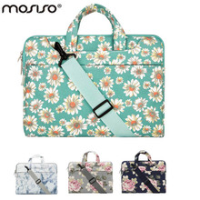 MOSISO 11 13.3 14 15.6 inch Bohemian Flower Designer Notebook Shoulder Bag for Macbook /Acer/Asus Laptop Computer Briefcase Bags(China)