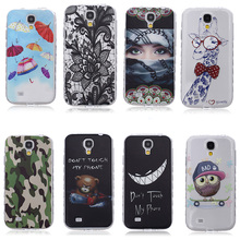 AKABEILA Mobile Phone Protective Cases For Samsung I9500 Galaxy S4 Case SIV I9505 GT-I9500 S4 CDMA SCH-I545 e Soft Covers(China)