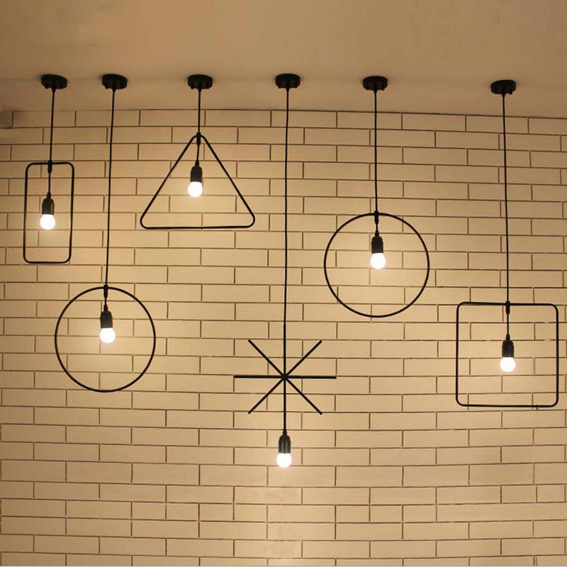 pendant Lamp Classic Decorative Loft Lights American Country LED Pendant Light E27/E26 120V-240V<br>