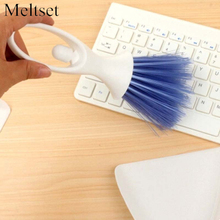 Mini Desktop Sweep Cleaning Brush Small Broom Dustpan Set Air Conditioner Dashboard Laptop Computer Keyboard Cleaner Tool