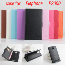 Buy Elephone P2000 MTK6592 Case 5.5 Inch Magnetic Flip Leather Case Cover Elephone P2000 Wallet Stand & Card Slots for $7.58 in AliExpress store