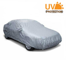 450*170cm Durable Indoor Outdoor Full Car Covers Sunproof Waterproof Resistant Protective Anti UV Scratch Sedan Cover M Size(China)