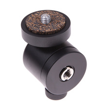 "360 Swivel Ball Head 1/4"" Screw Mount for DSLR Camera Tripod Ballhead Stand Tripod Heads(China)"