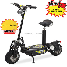 O001 HOT SALE 48V 1500W high quality mini foldable electric scooter, off road folding electric scooter,electrica de 2 ruedas