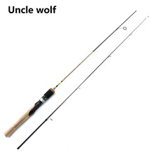 1.8M UL Spinning Rod 2section Carbon Lure wt 2-8g Fishing Rod Spinning Vava De Pesca Spinning Fast Ultralight Spinning Rod Canne(China)