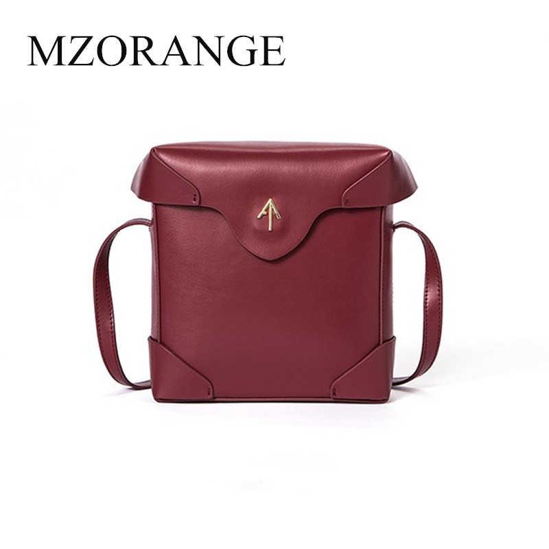 c010dbd2bd 2018 genuine leather Box Turkey Arrow bag Women handbag Small Cover Flap  Bag Shoulder Bags Cowhide