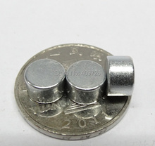 Hot sale 100pcs Strong Round Dia. 8mm x 5mm N38 Rare Earth Neodymium Magnet Art Craft Fridge free shipping(China)