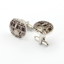 J Store French Shirt Star Wars Cufflinks Business/Wedding/Party Cuff Links Shirt Novelty Cuff Buttons Men Jewelry Accessory